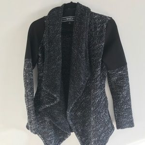 BNCI Heathered Black Cardigan
